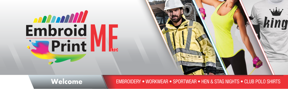 Embroidery Service - Embroid Me Print Me Ltd, Larne Northern